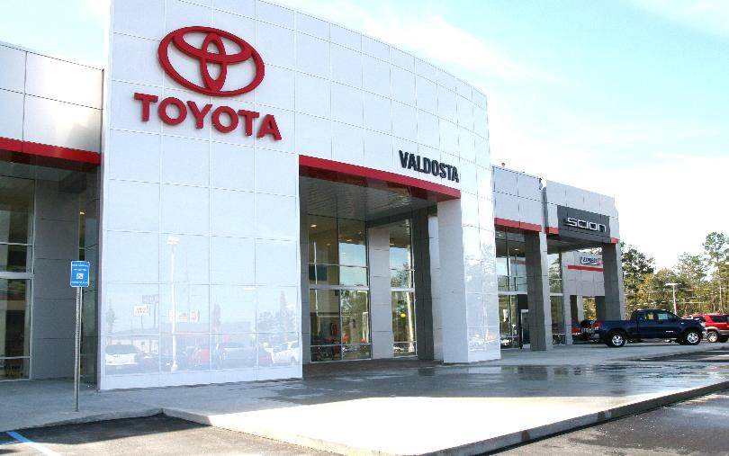 Front Elevation Of Showroom : Toyota image usa ii